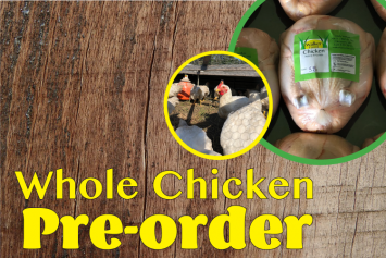 Pre-order Whole Chicken - July Delivery