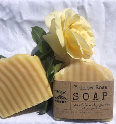 Yellow Rose Soap