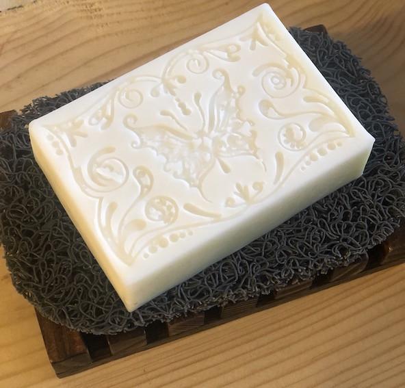 Soap Saver & Wooden Dish Combo