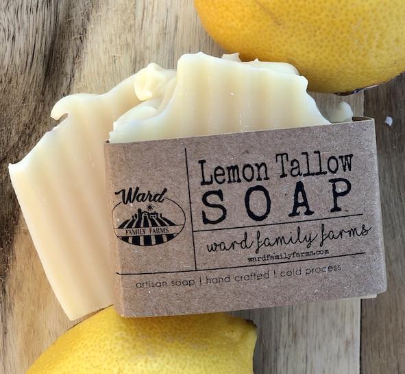 Lemon Tallow Soap
