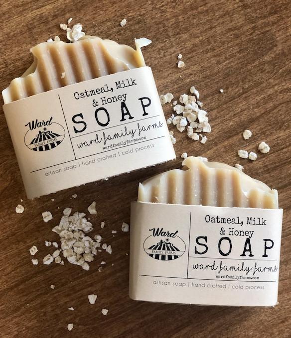 Oatmeal, Milk, & Honey Soap
