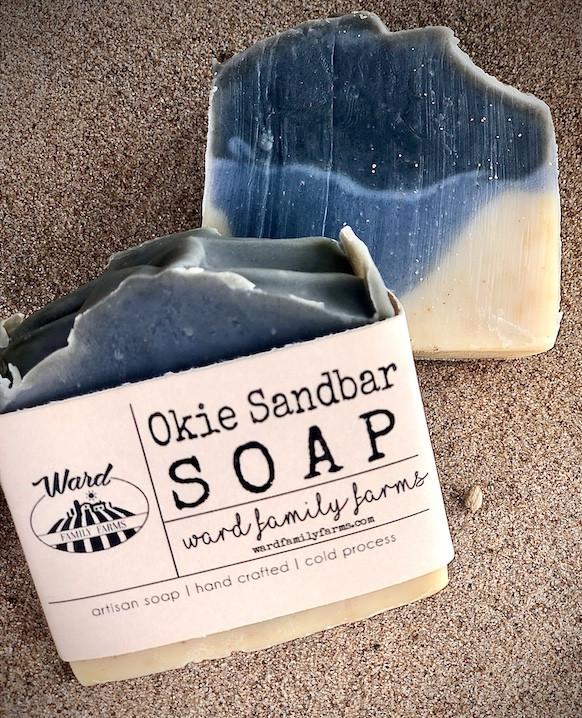 Okie Sandbar Soap