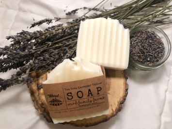 Lavender Tea Tree Tallow Soap
