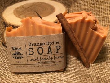 Orange Spice Soap
