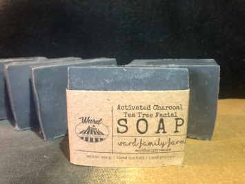 Activated Charcoal Tea Tree Facial Bar