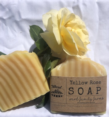 Yellow Rose Soap