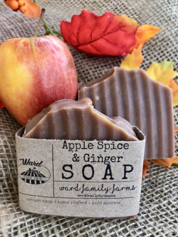 Apple Spice & Ginger Soap