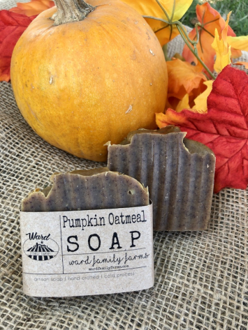 Pumpkin Oatmeal Soap