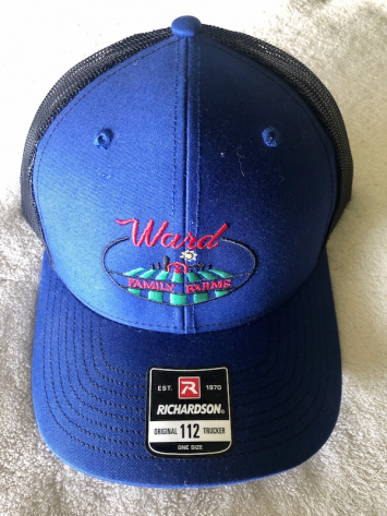 Richardson 112 Trucker Hat (Blue)