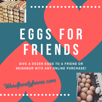 EGGS FOR FRIENDS