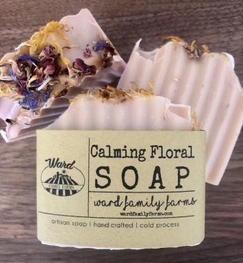 Calming Floral Soap