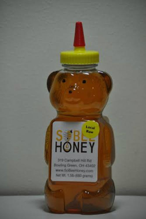 24 oz Large Honey Bear