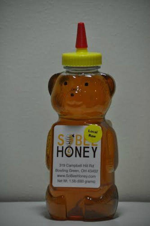 24 oz Large Honey Bear
