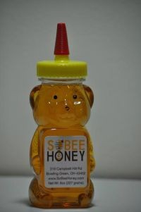 8 oz  Small Honey Bear