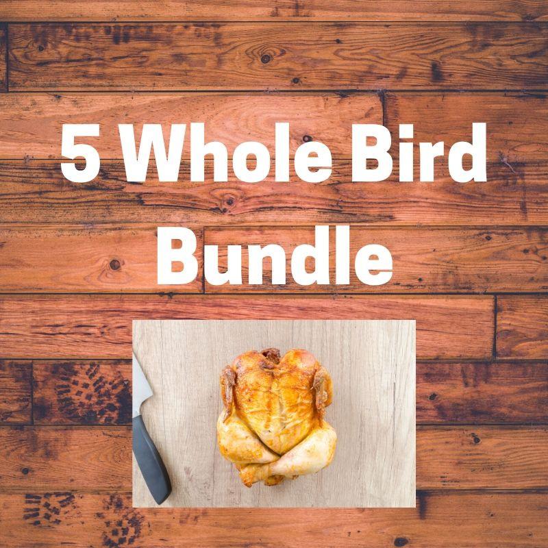 5 Bird Bundle