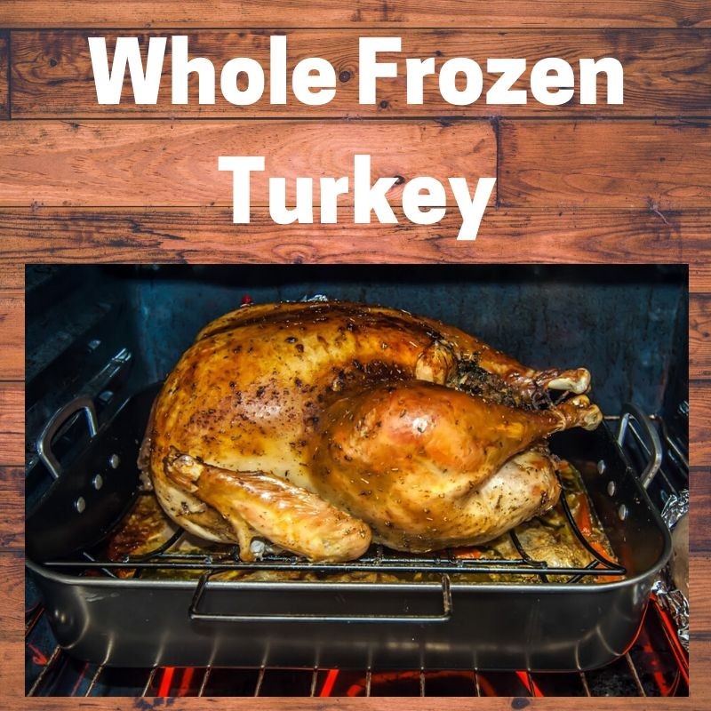 Frozen Turkey (22 lbs)