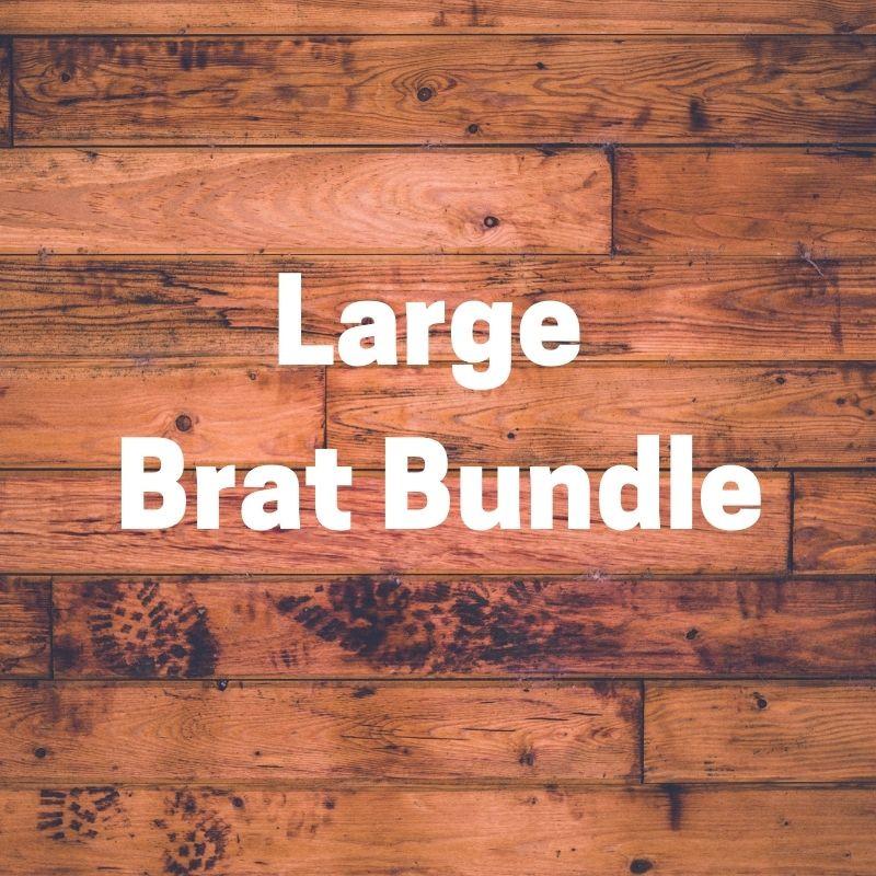1 Large Brat Bundle