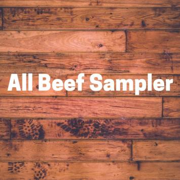 All Beef Sampler