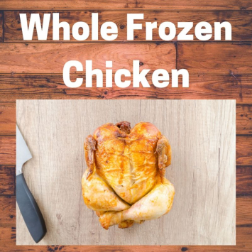 Whole Frozen Broiler Chicken