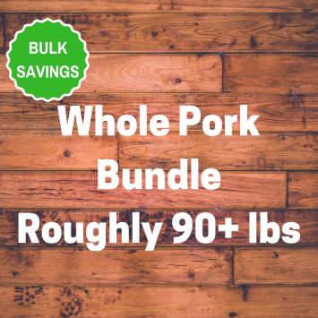 Whole Pork Bundle
