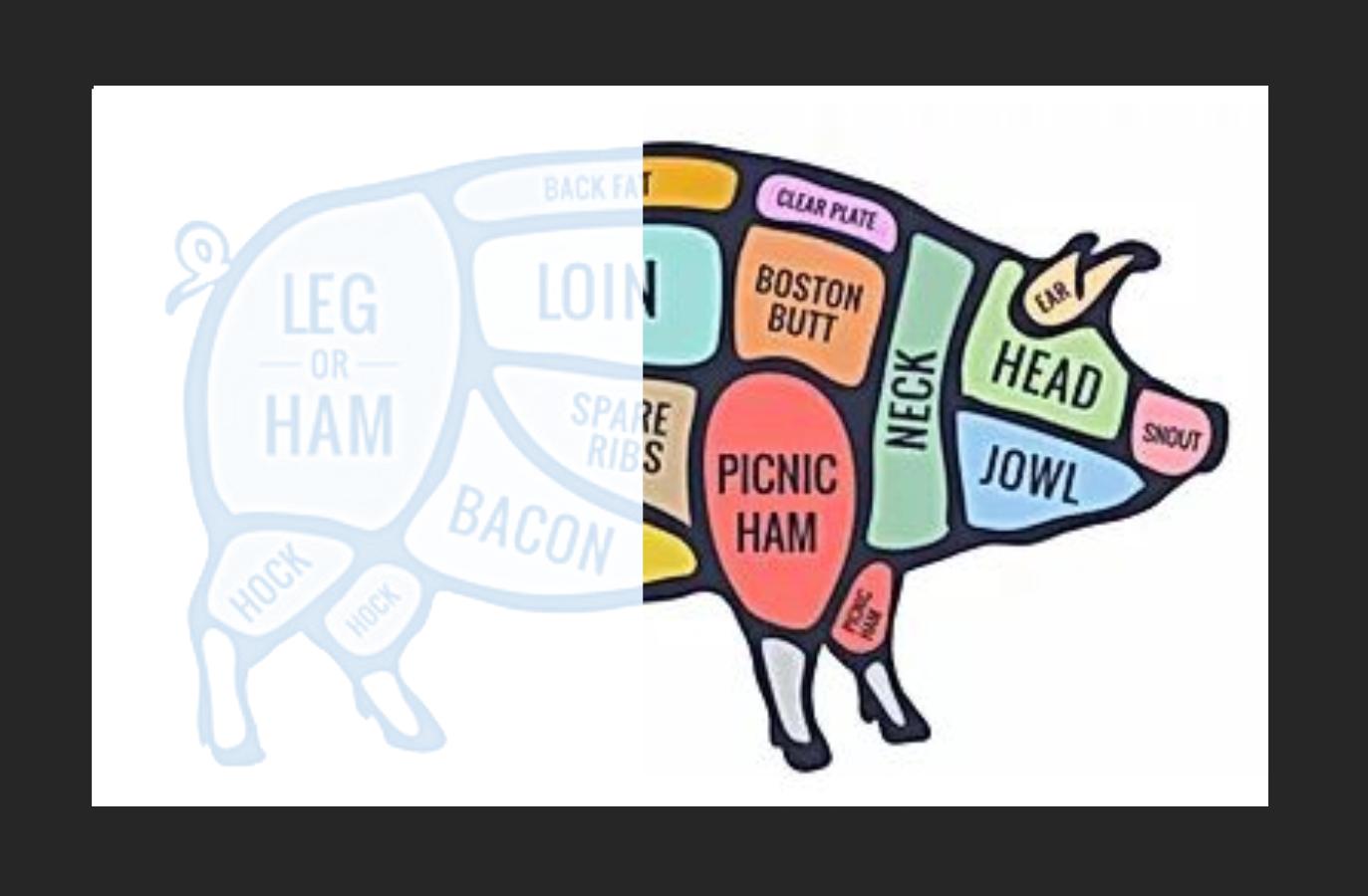MAR 15-- Half Pig (Pork) Deposit
