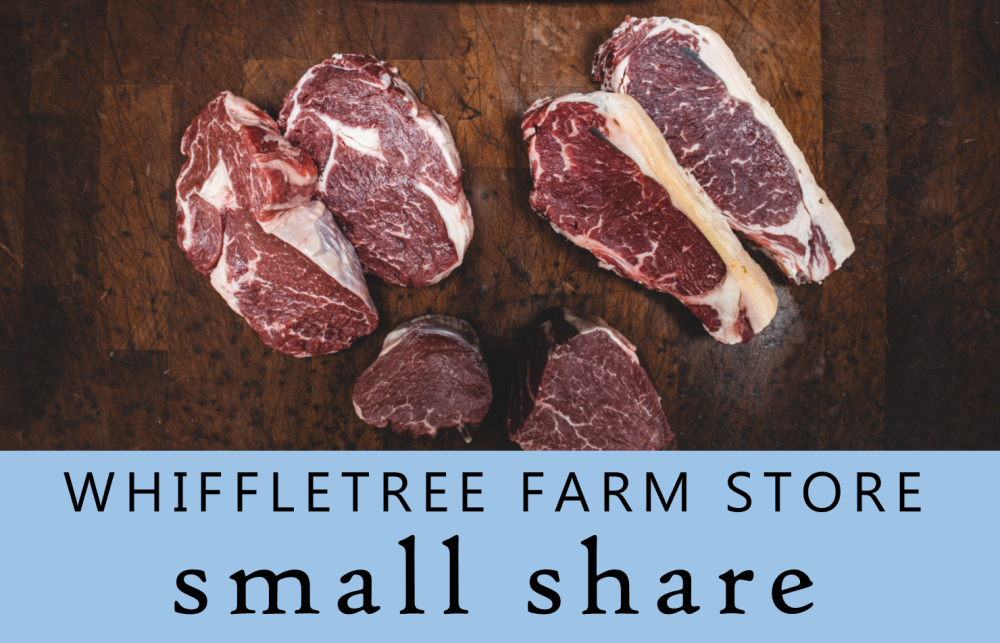 SMALL Meat Share @ Whiffletree Farm Store (Our popular Chicken, Beef & Pork staples!)