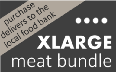 Extra Large Meat Bundle- for the Food Bank