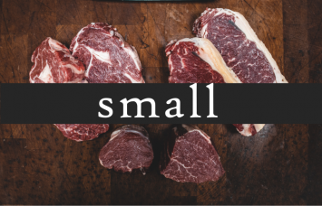SMALL Farmer's Choice Meat Share (Our popular BEEF & PORK Staples!)