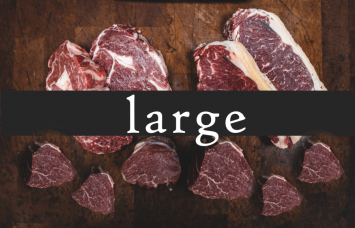 LARGE Farmer's Choice Meat Share (Our popular BEEF & PORK Staples!)