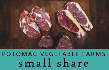 SMALL Meat Share @ Potomac Vegetable Farms (Our popular Chicken, Beef & Pork staples!)