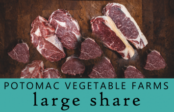 LARGE Meat Share @ Potomac Vegetable Farms (Our popular Chicken, Beef & Pork staples!)