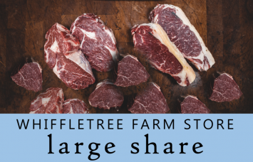LARGE Meat Share @ Whiffletree Farm Store (Our popular Chicken, Beef & Pork staples!)