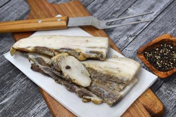 Seasoning Meat (aka Bacon Ends)