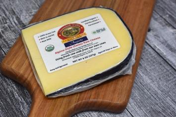 Alpine-Style Swiss Raw Cheese