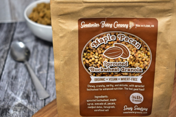 Maple Pecan Granola (0.75 lb bag)