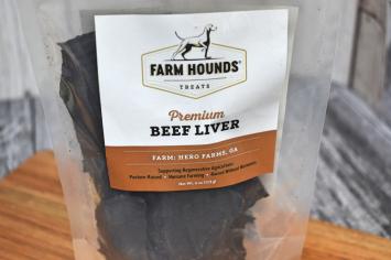 Farm Hounds Treats (Beef Liver)