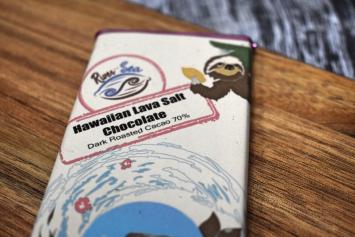 Hawaiian Lava Salt Chocolate Bar