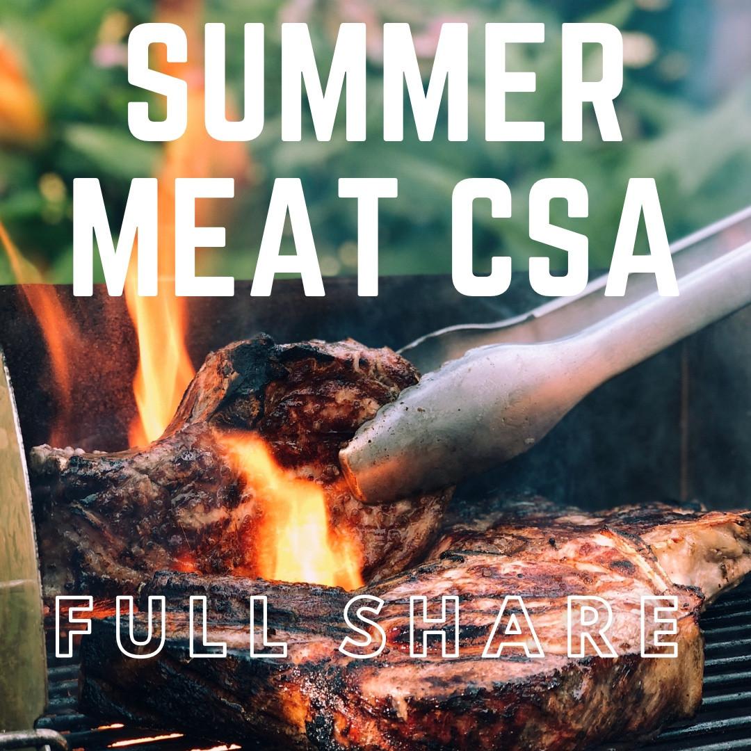 SUMMER Meat CSA - Full Share