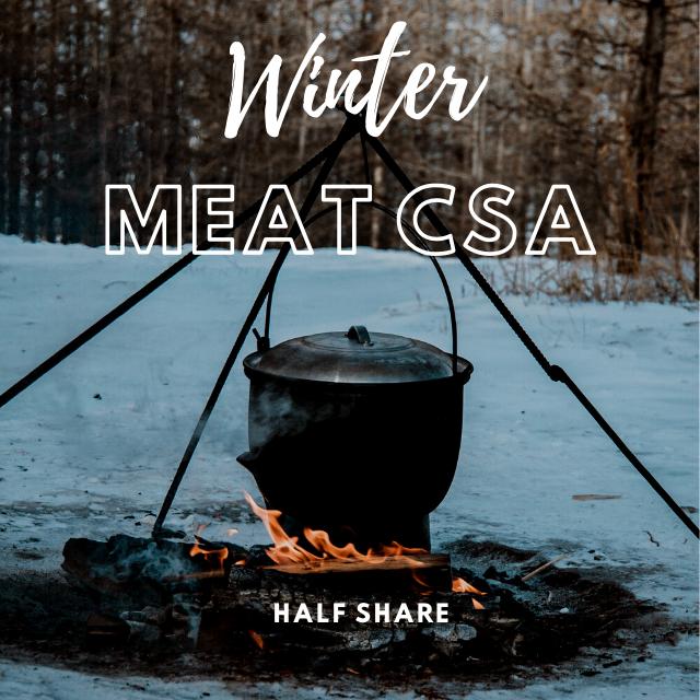 2021 WINTER CSA   Half Share