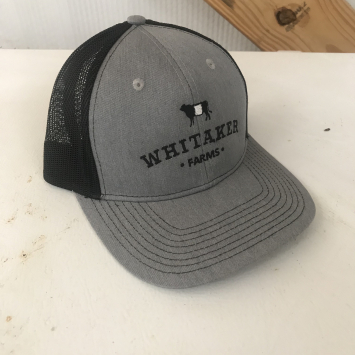 Black/Gray Hat