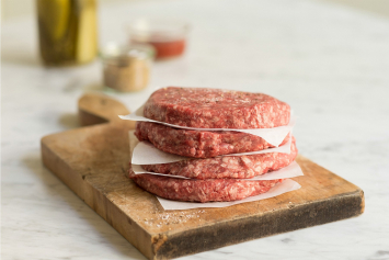 Beef and Bacon Burger Patties
