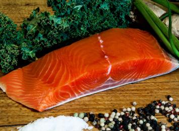 King Alaskan Salmon Filet