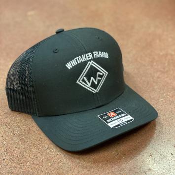 Black/Black Hat