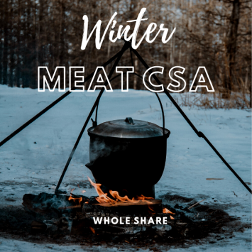2021 WINTER CSA | Whole Share