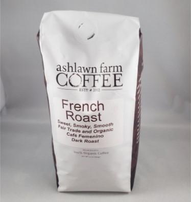 """Ashlawn Farm """"French Roast"""" - Whole Bean"""