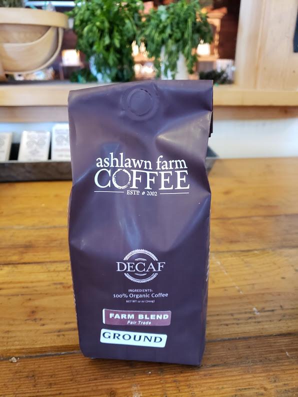 """Ashlawn Farm """"Farm Blend"""" - Ground (DECAF)"""