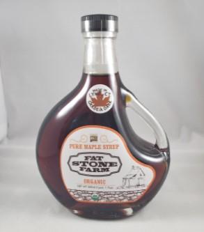 Fat Stone Farm Maple Syrup (Grade A Dark) LARGE