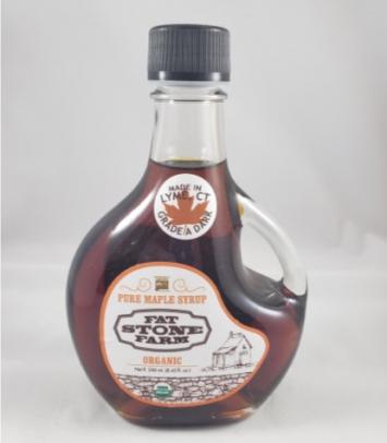 Fat Stone Farm Maple Syrup (Grade A Dark)  SMALL