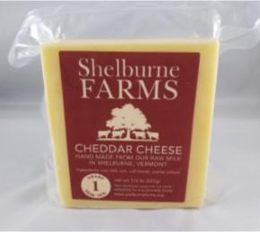 Shelburne Farms Cheddar Cheese (1 Yr. Old - Sharp)