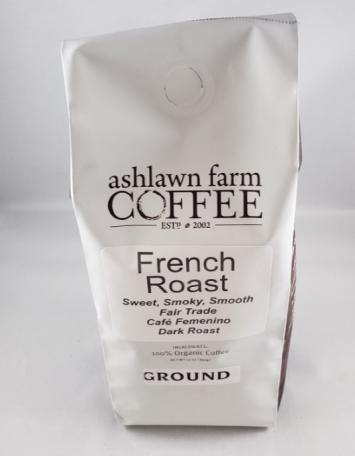 """Ashlawn Farm """"French Roast"""" - Ground"""